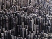 Icelandic stone tubes. Tubes of stone in Iceland Royalty Free Stock Images