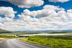 Icelandic summer landscape. Royalty Free Stock Photography