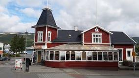 Icelandic Traditional House Stock Image