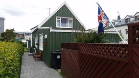 Icelandic Traditional House Stock Photos