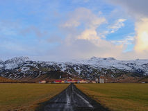 Icelandic village Stock Image
