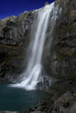 Icelandic waterfall. Taken during the day Iceland Royalty Free Stock Photos