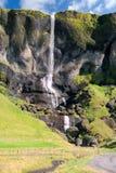 Icelandic Waterfall Royalty Free Stock Photography