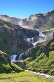 Icelandic waterfall Stock Images