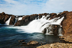 Icelandic waterfall Royalty Free Stock Photos