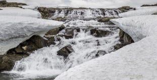 Icelandic Waterfall Royalty Free Stock Image
