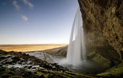 Icelandic waterfall Royalty Free Stock Photography