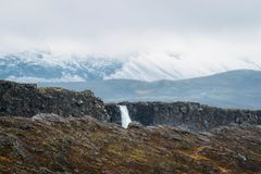icelandic widok obraz royalty free