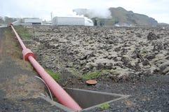 Icelandicpowerstation Lizenzfreies Stockfoto