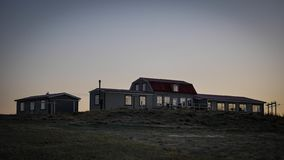 Iceland Guest house stock image