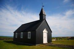 Icelanic Kirche Stockfotografie