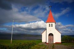 Icelanic Kirche Stockbild