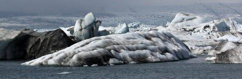 Iceman in Jokulsarlon Royalty-vrije Stock Afbeeldingen