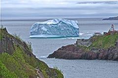 Icerberg grande Imagen de archivo libre de regalías