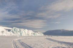 Icerberg op de Svalbard Eilanden Royalty-vrije Stock Foto's