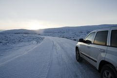 iceroad Στοκ εικόνες με δικαίωμα ελεύθερης χρήσης