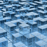 Ices background. Blue ices background  (hires 3D image Stock Photos
