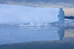 Ices and icebergs stock photography