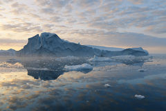 Ices and icebergs of polar regions of Earth. Stock Photography