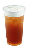 Ices Tea With Foam Royalty Free Stock Photos