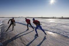 Iceskating Stockfotos