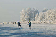 iceskating Стоковая Фотография