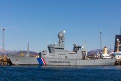ICGV托尔-冰岛语海岸卫队旗舰  库存图片