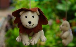 Ich bin ein glücklicher Löwe stockbilder