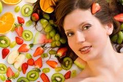 Ich bin eine Frucht Stockfotos