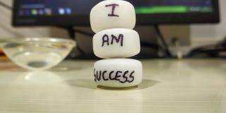 Ich bin Erfolg stockfotos