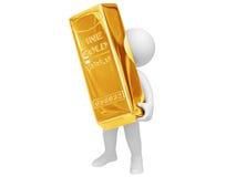 Ich erhielt Gold! Lizenzfreie Stockfotos