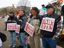 Ich fische i-Abstimmung Stockbild