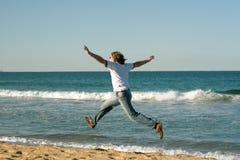 Ich fliege!!! Lizenzfreie Stockbilder