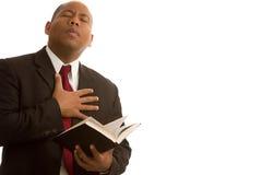 Ich gebe dem Gott mein Inneres Stockbild