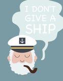 Ich gebe kein Schiff Lizenzfreies Stockbild