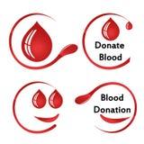 Ich gebe mein Blut mit etwas Blut Lizenzfreies Stockfoto