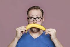 Ich hasse Bananen Lizenzfreies Stockbild