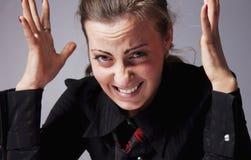 Ich hasse meine Büroarbeit Ich kann nicht mehr Arbeit hier!!! Bürohölle lizenzfreie stockbilder
