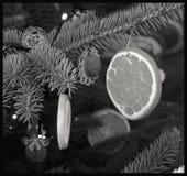 Ich hole Ihnen ein Stückchen der Weihnachtsatmosphäre Stockbilder