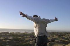 Ich kann fliegen Stockbild