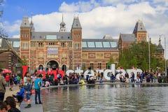 Ich liebe Amsterdam Stockfotos