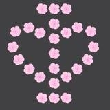 Ich liebe Blumen Lizenzfreies Stockfoto
