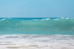 Ich liebe den Strand lizenzfreie stockbilder