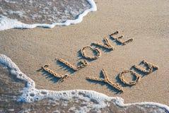 Ich liebe dich 2 Stockbild