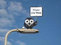 Ich liebe dich Mama Lizenzfreie Stockfotos