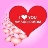 Ich liebe dich Mamma Stockbilder