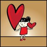 Ich liebe dich soviel! Stockfotografie