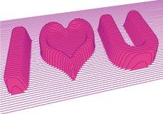 Ich liebe dich Vektor vektor abbildung