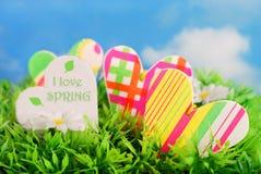 Ich liebe Frühling Stockbild