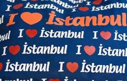 Ich liebe Istanbul Lizenzfreies Stockbild